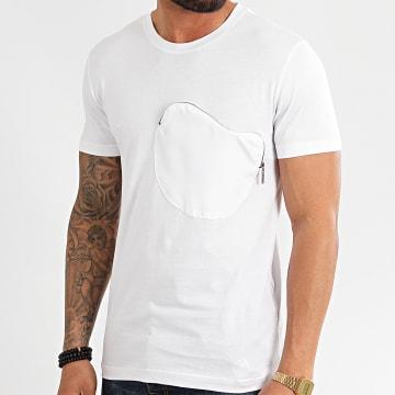 Classic Series - Tee Shirt Poche 2044 Blanc