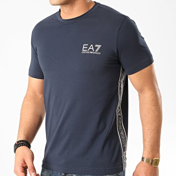 EA7 - Tee Shirt 3HPT07-PJ03Z Bleu Marine