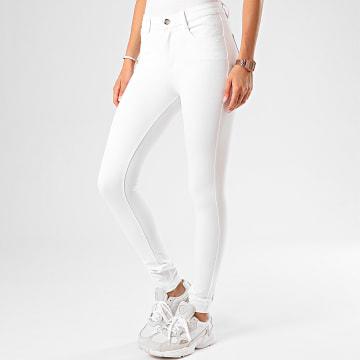 Girls Only - Jean Skinny Femme DT1582 Blanc