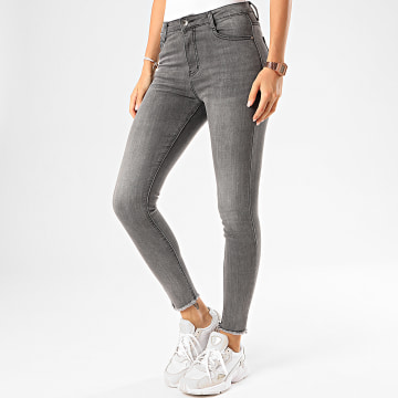 Girls Only - Jean Skinny Femme 585 Gris Anthracite