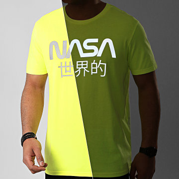 Tee Shirt Japan Reflective Jaune Fluo