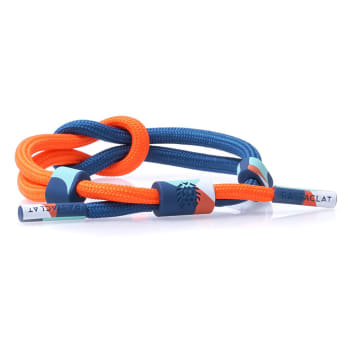 Rastaclat - Bracelet Power On Orange Bleu
