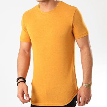 Ikao - Tee Shirt Oversize F817 Moutarde