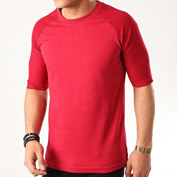 Ikao - Tee Shirt Oversize F811 Bordeaux