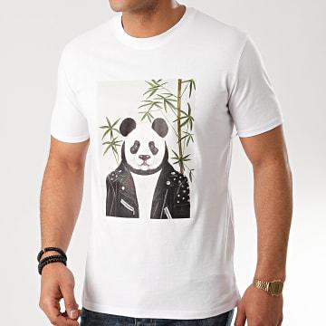 Ikao - Tee Shirt F805 Blanc