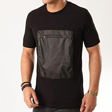 Ikao - Tee Shirt Poche F912 Noir