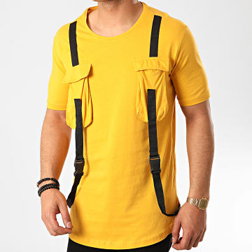Ikao - Tee Shirt Oversize F848 Moutarde