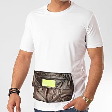 Ikao - Tee Shirt Poche Oversize F878 Blanc