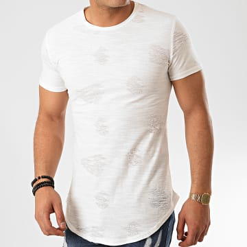 John H - Tee Shirt Oversize T2071 Ecru