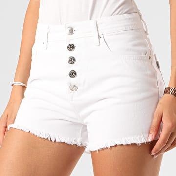Tiffosi - Short Jean Slim Femme Babsy 37 Blanc