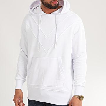 Uniplay - Sweat Capuche HD-40 Blanc