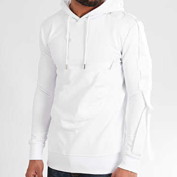 Uniplay - Sweat Capuche HD-41 Blanc