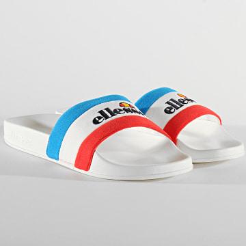 Ellesse - Claquettes Borgaro Textile 799790 Blanc