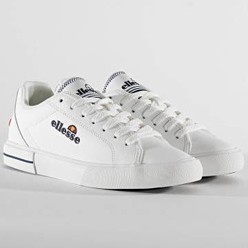 Ellesse - Baskets Femme Taggia Leather 613663 White Dark Blue