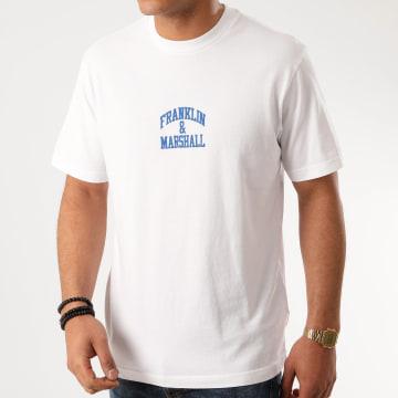 Franklin And Marshall - Tee Shirt JM3000-1000P01 Blanc