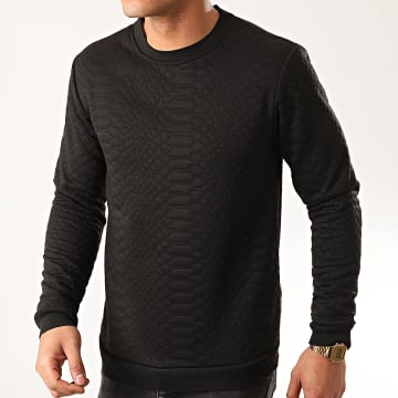 Frilivin - Sweat Crewneck 13822D Noir Serpent