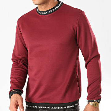 Frilivin - Sweat Crewneck 13822 Bordeaux Renaissance