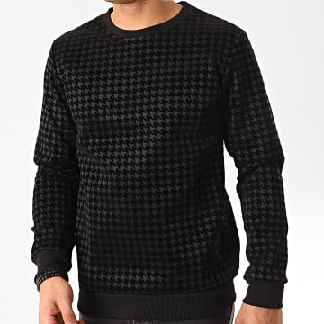 Frilivin - Sweat Crewneck 6256 Gris Anthracite Noir