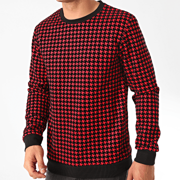 Frilivin - Sweat Crewneck 6256 Rouge Noir
