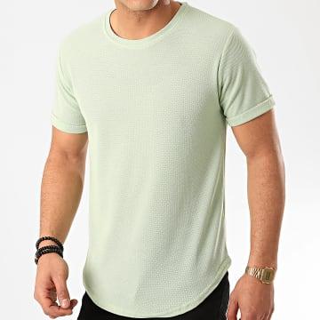 Frilivin - Tee Shirt Oversize 7241 Vert Clair
