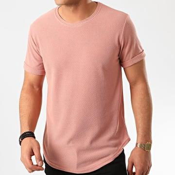 Frilivin - Tee Shirt Oversize 7241 Rose