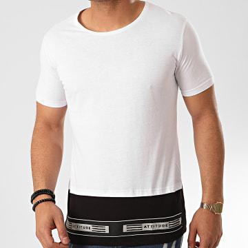Ikao - Tee Shirt Oversize F842 Blanc