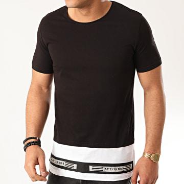 Ikao - Tee Shirt Oversize F842 Noir