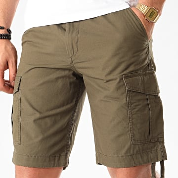 Jack And Jones - Short Cargo Charlie Vert Kaki