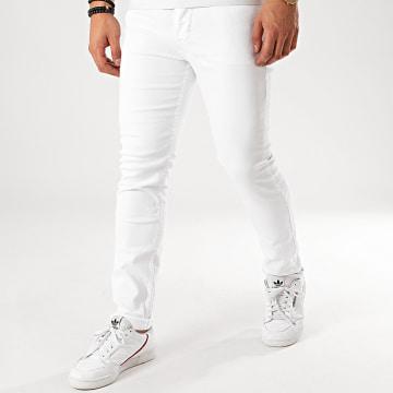 Mackten - Jean Slim 7034 Blanc