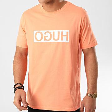 HUGO by Hugo Boss - Tee Shirt Reverse Logo 50425766 Orange Corail