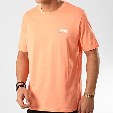 HUGO by Hugo Boss - Tee Shirt Reverse Logo 50424962 Orange Corail