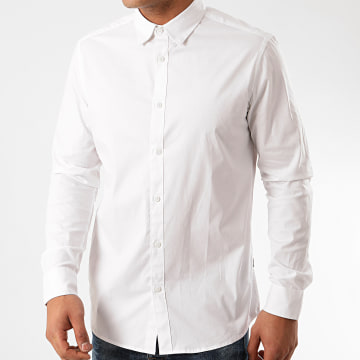 Solid - Chemise Manches Longues Tyler Blanc