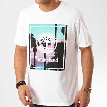 Timberland - Tee Shirt A1Z26 Blanc