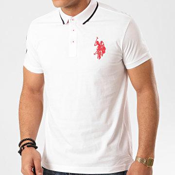 US Polo ASSN - Polo Manches Courtes N3 Sunwear Blanc