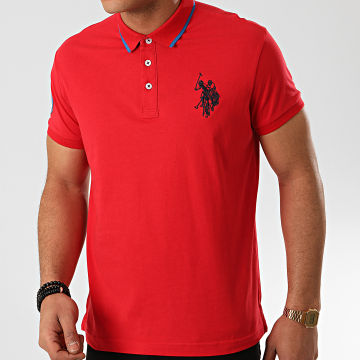 US Polo ASSN - Polo Manches Courtes N3 Sunwear Rouge