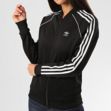 Adidas Originals - Veste Zippée Femme A Bandes SST FM3288 Noir