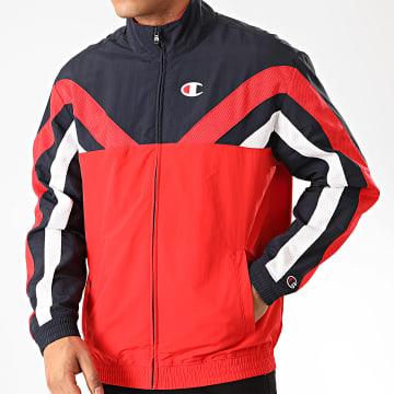Champion - Veste Zippée Tricolore 214261 Rouge Bleu Marine