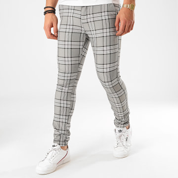 Classic Series - Pantalon Carreaux M-3301 Gris