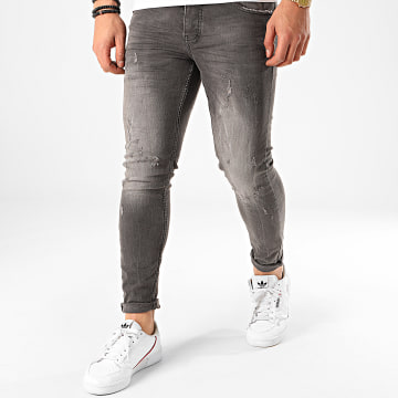 Classic Series - Jean Skinny DHZ-2984 Gris Anthracite