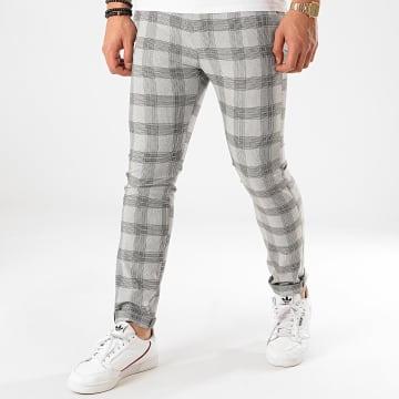 Classic Series - Pantalon Carreaux M-3308 Gris