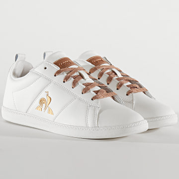 Le Coq Sportif - Baskets Femme Courtclassic 2010475 Optical White Rose Gold
