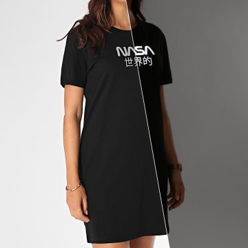 NASA - Tee Shirt Robe Femme Japan Reflective Noir