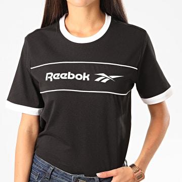 Reebok - Tee Shirt Femme Classic Linear FK2784 Noir