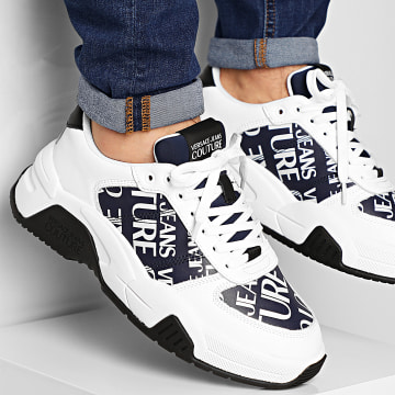 Versace Jeans Couture - Baskets Linea Fondo Fire YVBSF8 71545 White Navy