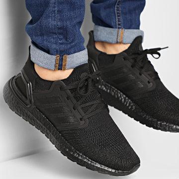 Adidas Performance - Baskets Ultraboost 20 EG0691 Core Black Solar Red