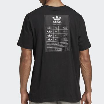 Adidas Originals - Tee Shirt Trefoil Evolution FM3375 Noir