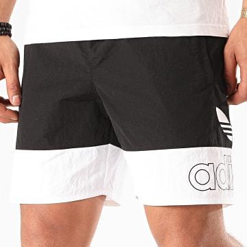 Adidas Originals - Short De Sport Freestyle FM1547 Noir Blanc