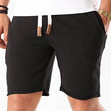 Indicode Jeans - Short Jogging Aldrich Noir