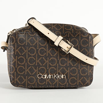 Calvin Klein - Sac A Main Femme CK Monogram Camerabag 6566 Noir