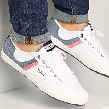 Pepe Jeans - Baskets Aberman Half PMS30627 White